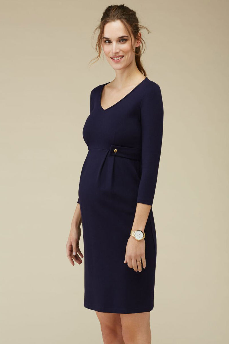 Isabella Oliver Marlow Tab Maternity Dress - Seven Women Maternity