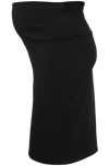 Pencil Skirt with Fold-up or down belly band
