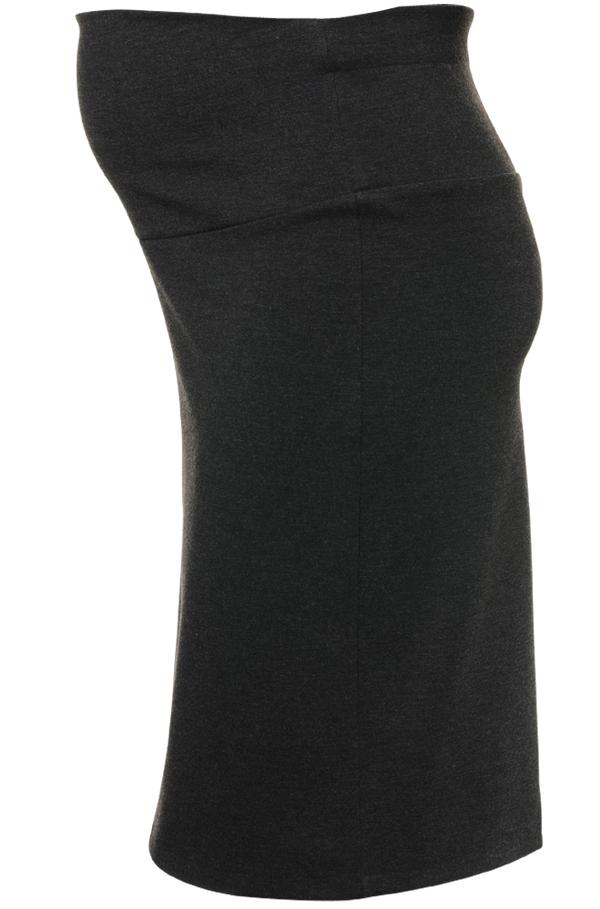 Pencil Maternity Skirt With Fold Up Or Down Belly Band - Seven Women Maternity