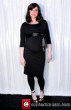 Little Black Maternity Dress - Seven Women Maternity