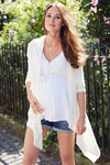 Seraphine Melissa Waterfall Light Maternity Cardigan