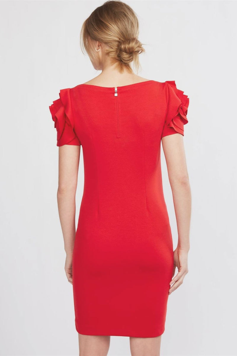 Pietro Brunelli Milano Flower Sleeve Maternity Dress in Passion Red - Seven Women Maternity