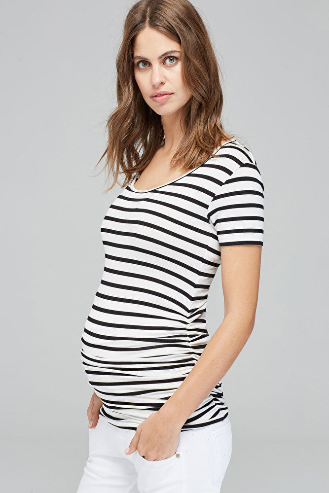 Isabella Oliver Nia Scoop Maternity Top