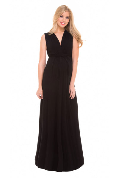 Angelina Maternity Maxi Dress - Seven Women Maternity
