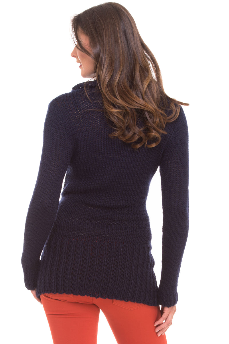 Cowl Neck Sweater by Olian