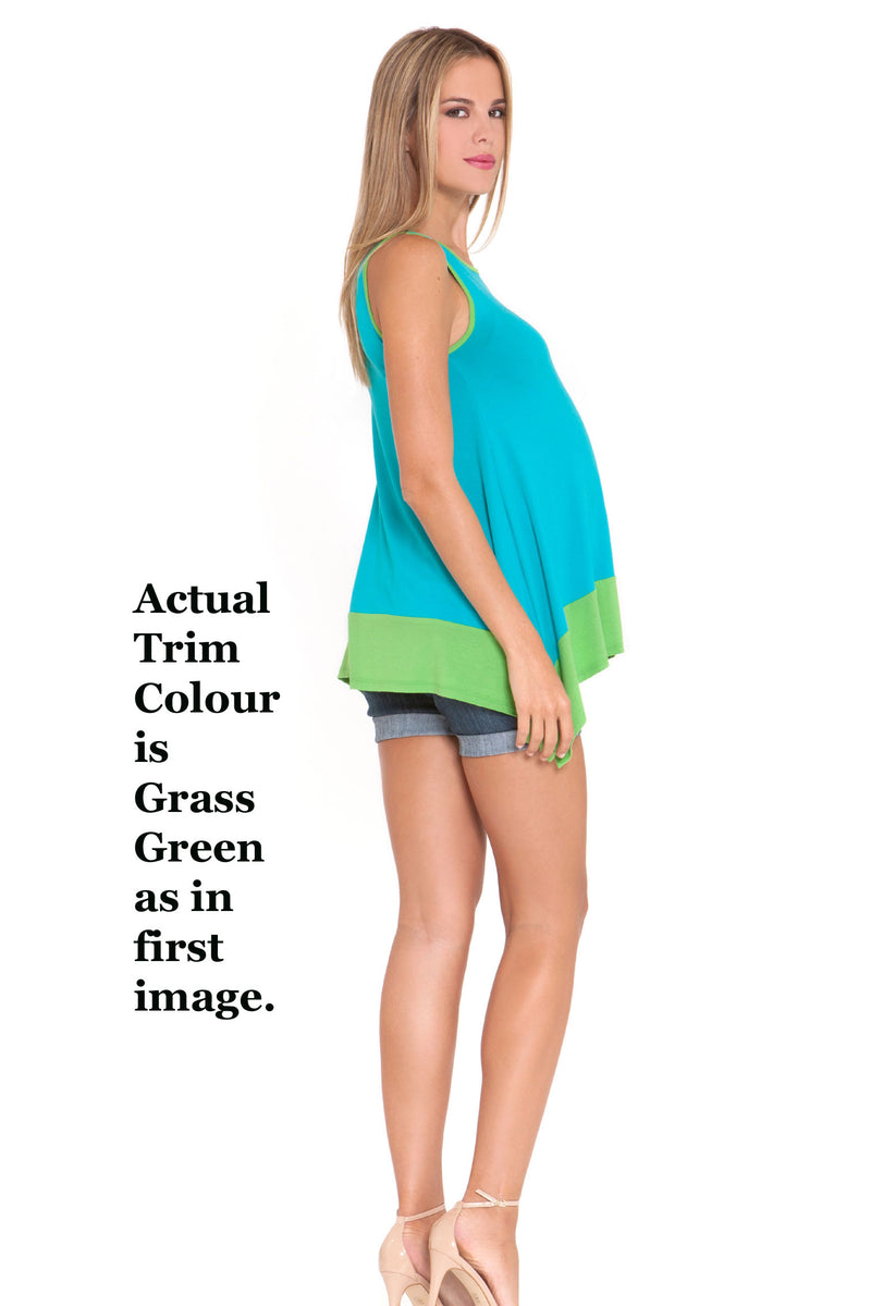 Strip Tipped Maternity Tunic