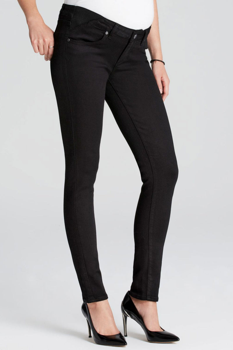 Paige Verdugo Maternity Jeans in Black Shadow - Seven Women Maternity