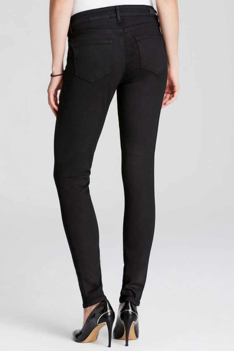 Paige Verdugo Maternity Jeans in Black Shadow