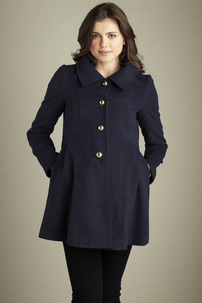 Winter Pea Maternity Coat - Seven Women Maternity