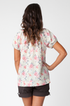 Cotton Voile Primrose Maternity Top Ripe - Seven Women Maternity