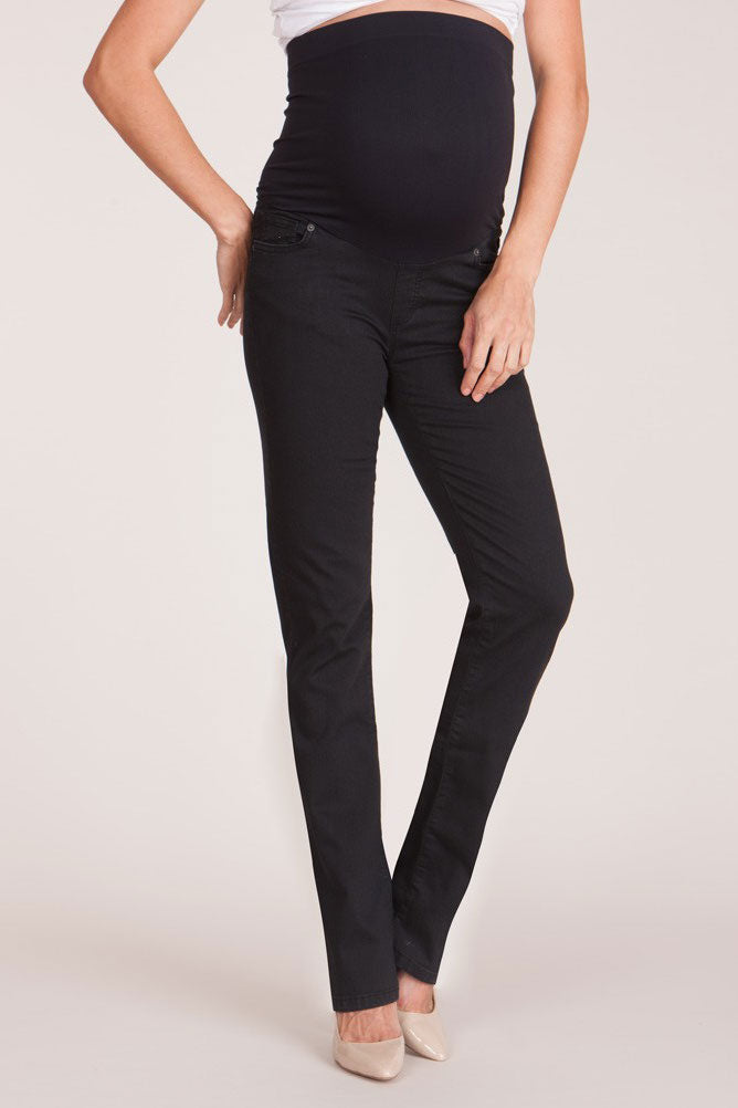 Seraphine Remy Black Skinny Maternity Jeans