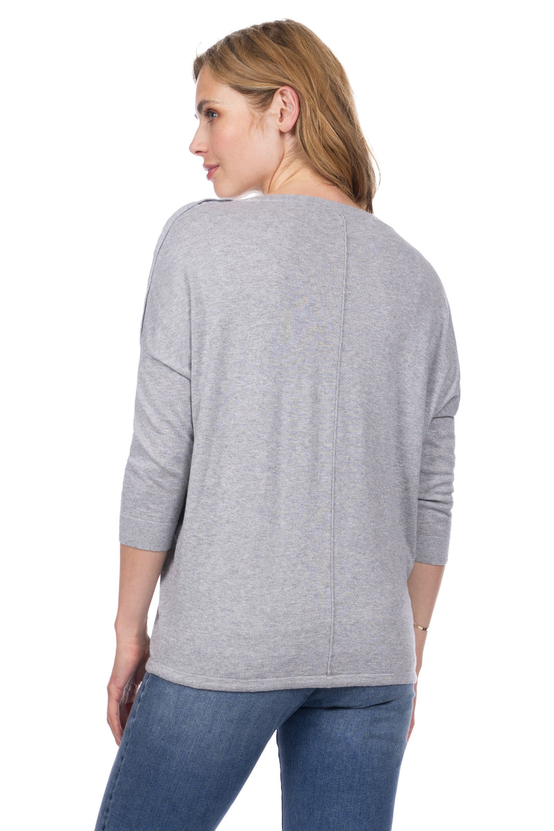 Seraphine Rihanna Cotton Star Maternity Nursing Sweater