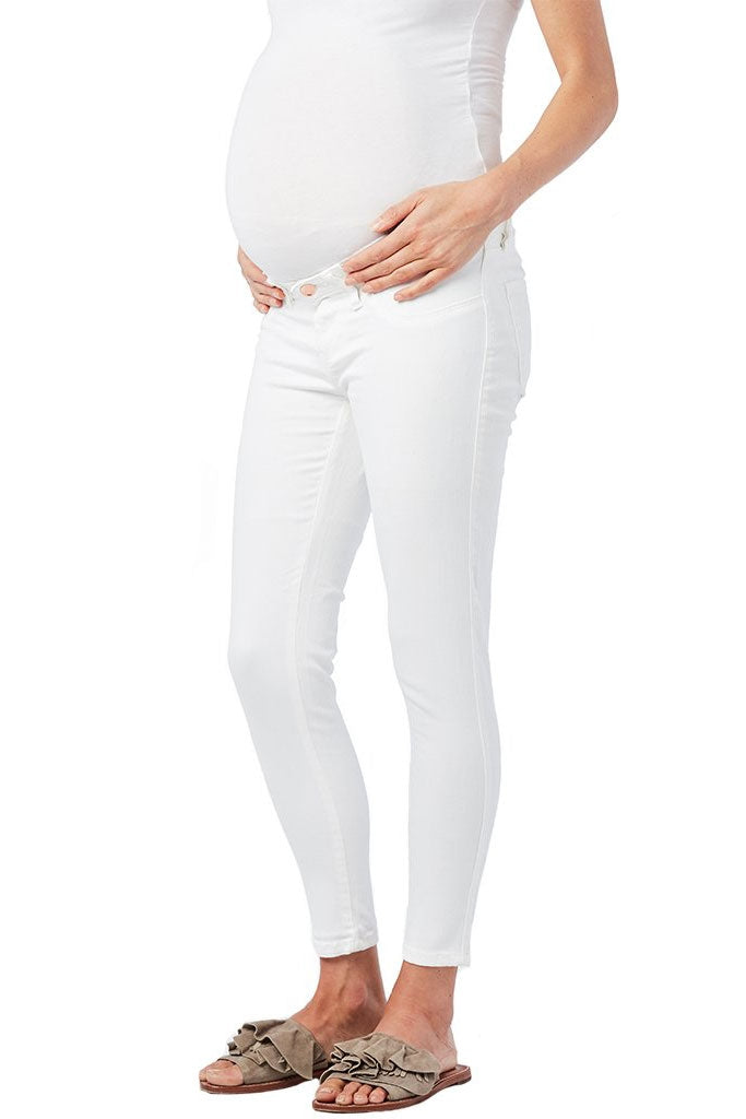 Ripe Isla White Maternity Jeggings - Seven Women Maternity