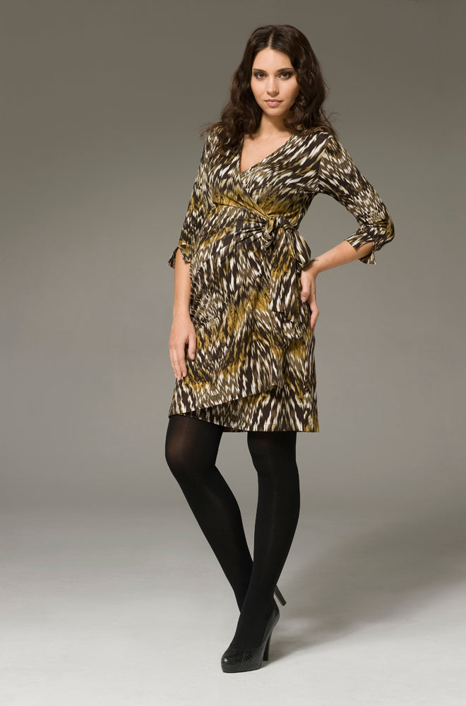 Ripe Zahara Maternity Wrap Dress - Seven Women Maternity