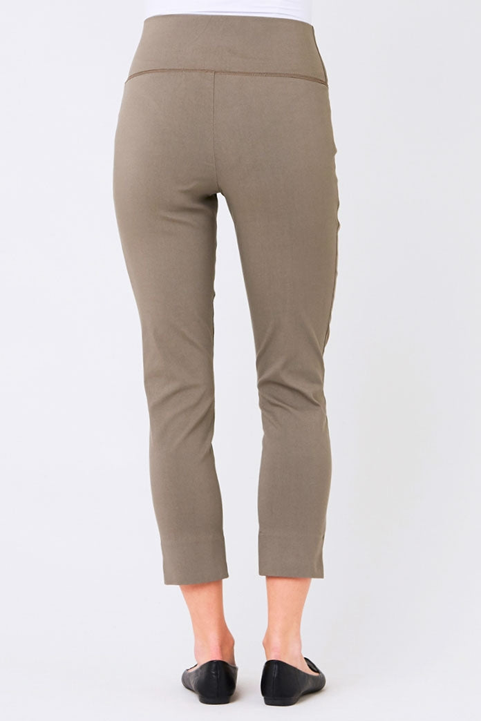 Sara Crop Skinny Pants in Putty by Ripe