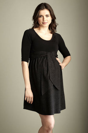 Lurex Maternity dress by Maternal America