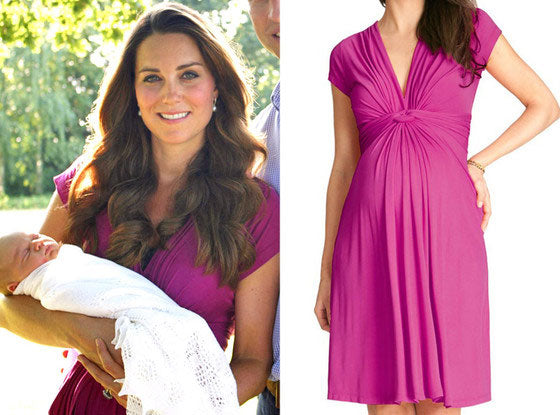 Seraphine Jolene Maternity Dress worn by the Dutchess of Cambridge Kate Middleton