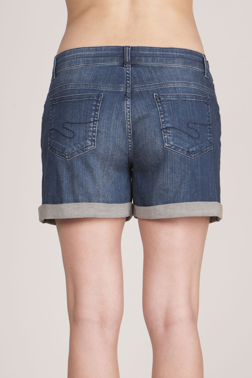 Scarlet Denim Maternity Shorts - Seven Women Maternity