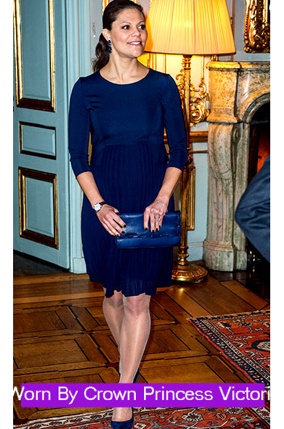 Seraphine Luxe Sophia Maternity Dress worn by Princess Sofia - Seven Women Maternity