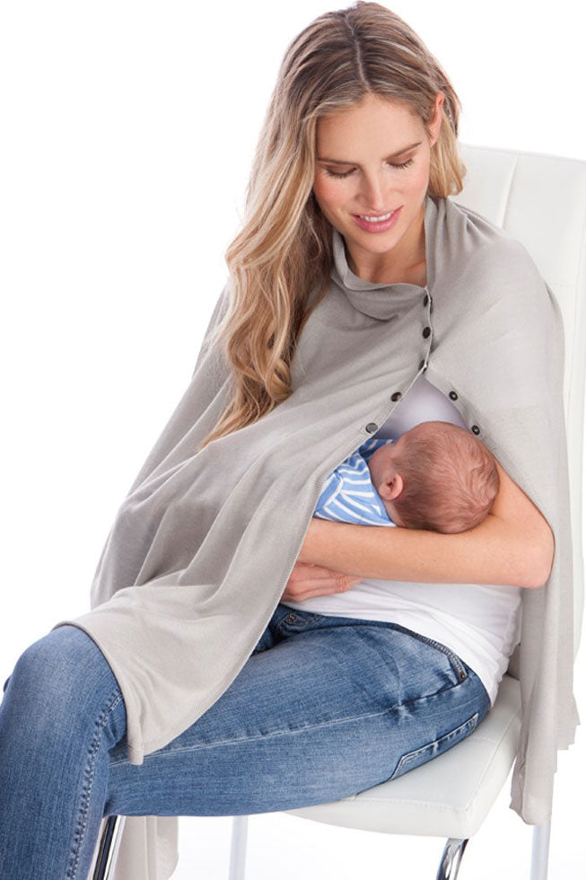 Seraphine Summer Madison Nursing Shawl - Seven Women Maternity