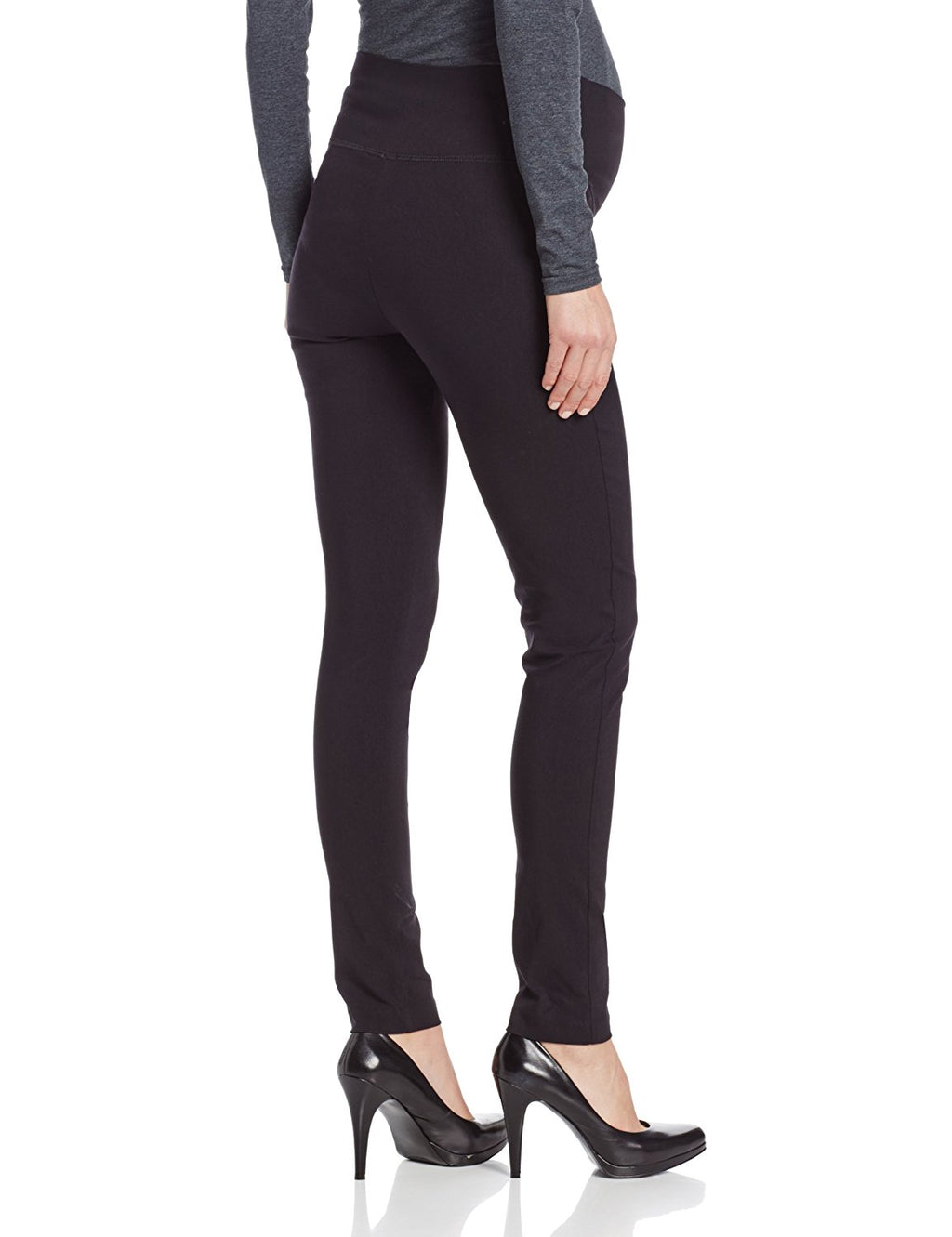 Ripe Suzie Super Straight Maternity Pant in Navy - Seven Women Maternity