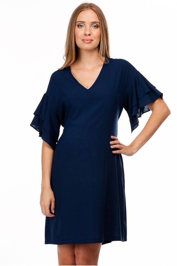 Pietro Brunelli Sybill Silk-like Maternity Dress - Seven Women Maternity