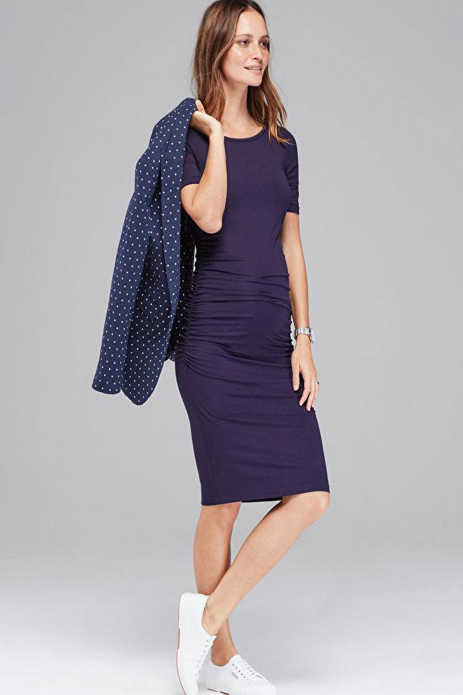 Isabella Oliver Ruched Maternity Dress - Seven Women Maternity