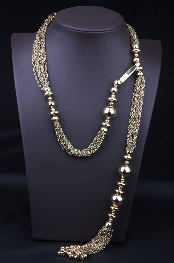 Designer Long Chain Necklace