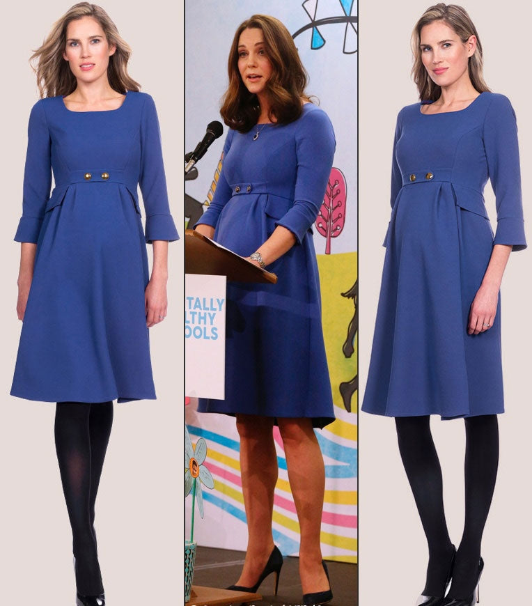 Seraphine Valerie Tailored Maternity Dress worn by Kate Middleton - Seven Women Maternity