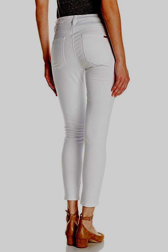 Ripe White Maternity Ankle Jeans / Jeggings