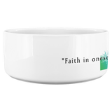 "Michelangelo | Pet Bowl ""Faith in oneself is the best and safest course."" - Walt and Pete"