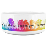"Walt & Pete | Pet Bowl "" You've always been in good company. - Walt and Pete"
