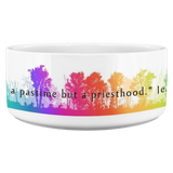 "Jean Cocteau | Pet Bowl ""Art is not a pastime but a priesthood."" - Walt and Pete"