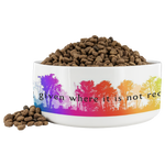 "E. M. Forster | Pet Bowl ""Love is always being given where it is not required."" - Walt and Pete"