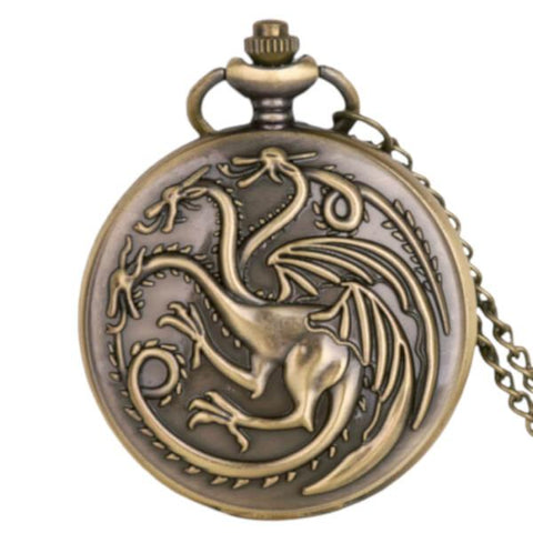 Montre à Gousset Targaryen | Game of Thrones