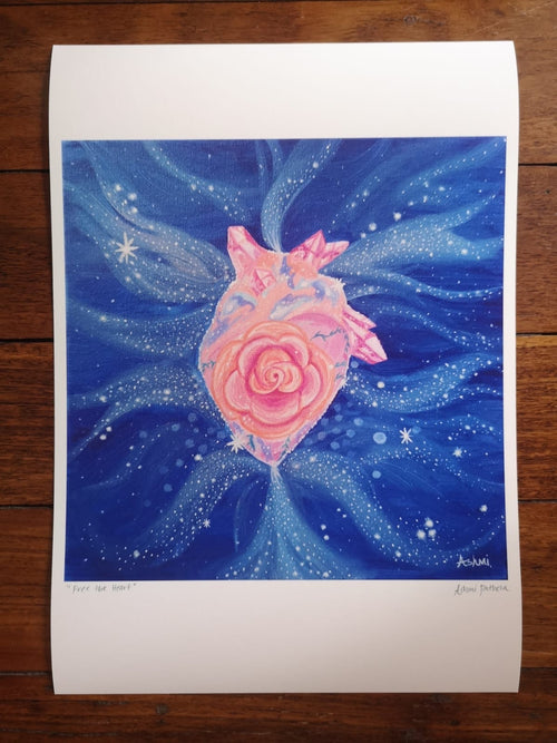 Free the Heart ~ Open Edition Print