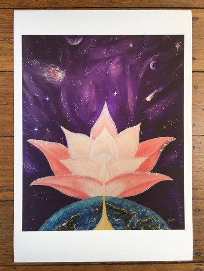 Prayer for the Earth ~ Limited Edition Print