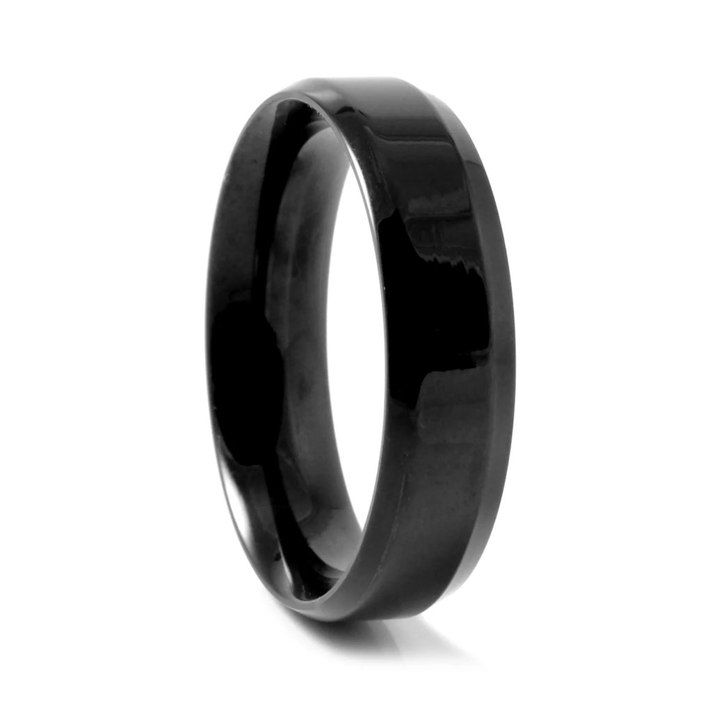 BLACK VERTIGO STEEL RING