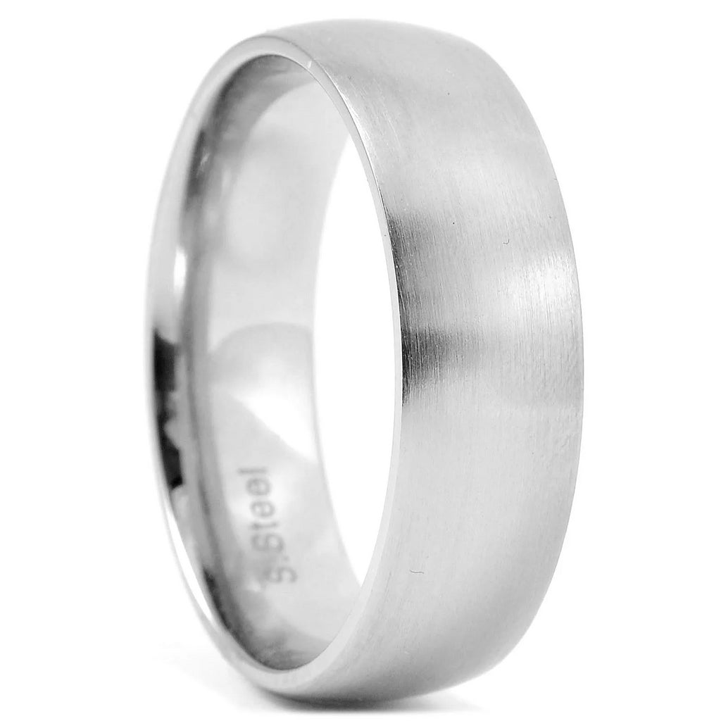 CLASSIC MATTE STEEL RING