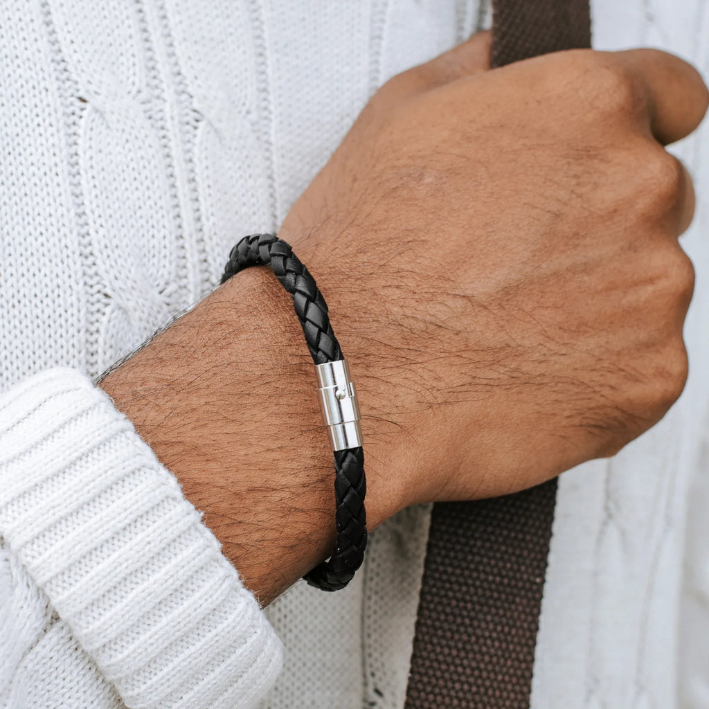 BOLO LEATHER BRACELET FOR MEN