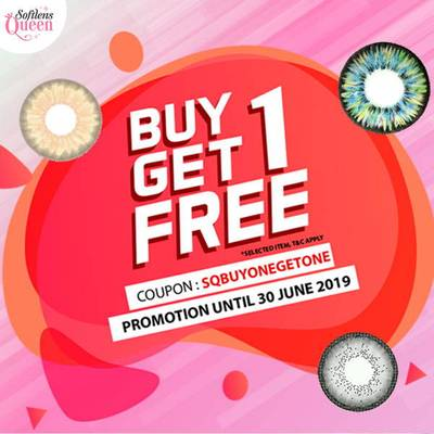 JUNE PROMO : BUY ONE GET ONE