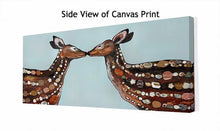 Load image into Gallery viewer, Deer Love - Canvas Giclée Print