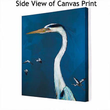 Load image into Gallery viewer, Great Blue Heron - Canvas Giclée Print