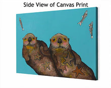 Load image into Gallery viewer, Holding Hands - Canvas Giclée Print