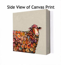 Load image into Gallery viewer, Lamb on Cream - Canvas Giclée Print
