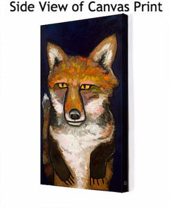Super Fox - Canvas Giclée Print