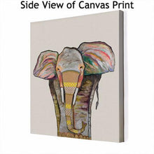 Load image into Gallery viewer, Trendy Trunk on Cream - Canvas Giclée Print