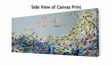 Load image into Gallery viewer, Vivid Waves - Canvas Giclée Print
