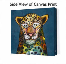 Load image into Gallery viewer, Wild Leopard - Canvas Giclée Print
