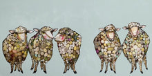 Load image into Gallery viewer, 5 sheep baby nursery art print